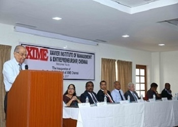 Inaugural Function of Batch 1 of XIME Chennai