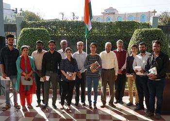 Republic day 2020 celebration in XIME Bangalore