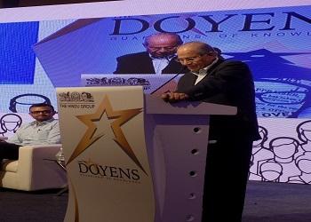 Prof. J. Philip, Felicitated as Doyen of Management Education