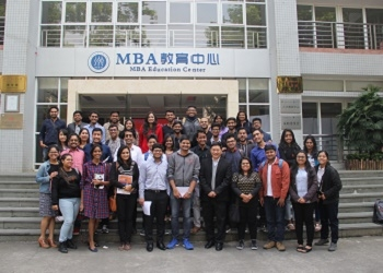 Winter Student Exchange program at GDUFS, China