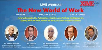The New World of Work - Webinar